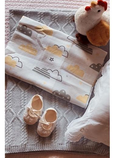 Arma Baby's Bulutlu Müslin Battaniye 100*120 Renkli